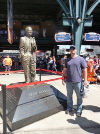 Comerica Park Ernie Harwell Statue