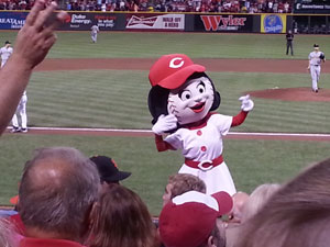 Rosie Red at GABP