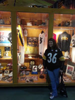 Heinz Field Steelers Hall of Fame Lockers