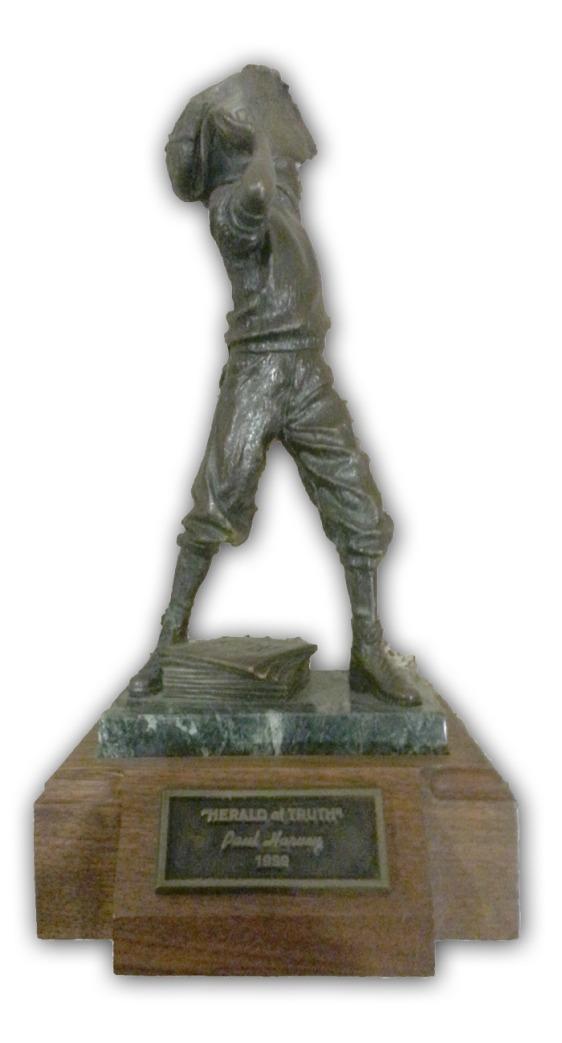Paul Harvey's Herald of Truth Statue