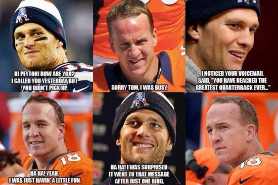 Manning versus Brady