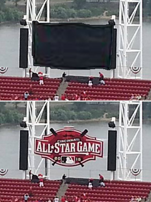 2015 All Star Game logo unveiled at Great American Ball Park in Cincinnati