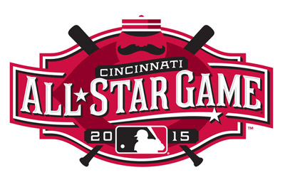 All Star Game logo from the Great American Ball Park era