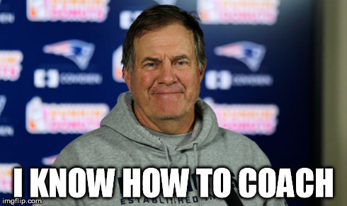 Bill Belichick is no genius