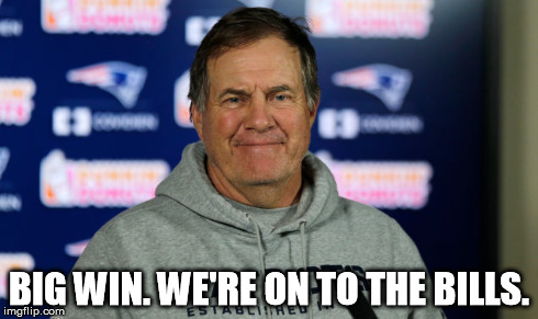 Bill Belichick is onto Buffalo