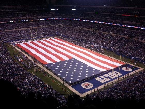 Lucas Oil Stadium for Patriots versus Colts