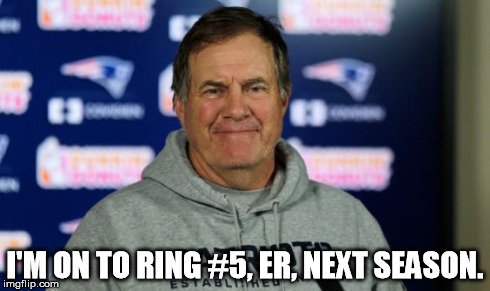 Bill Belichick is a genius